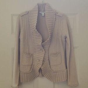 White house black market carrigan jacket